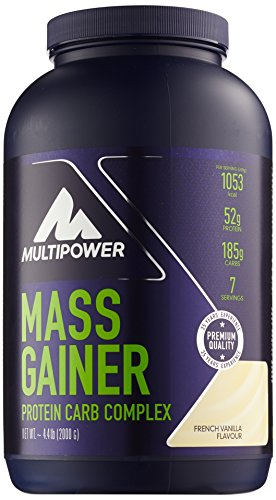 Multipower Mass Gainer, French Vanilla
