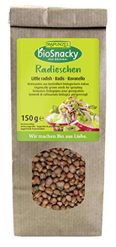 Rapunzel Radieschen bioSnacky, 4er Pack (4 x 150 g)