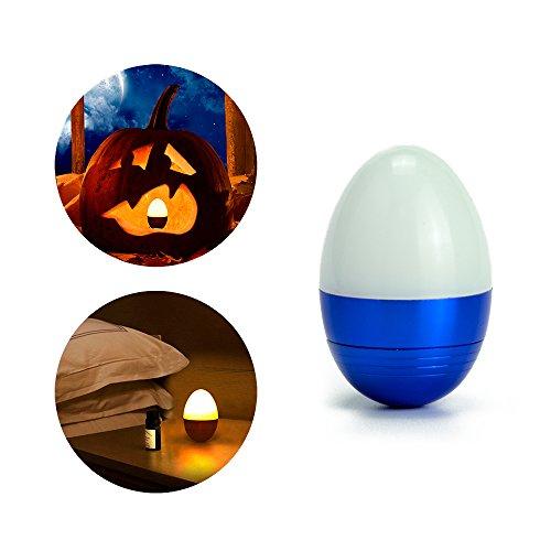 Nachtlicht, Lammcou Mini LED Tisch Lampe Bettlampe Nachtleuchte Kinder Nachtlampe LED Nachttischlampe Schlummerleuchte Stimmungslicht für Schlafzimmer, Wohnzimmer Mini Tischlampe - Blau