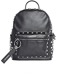 mochila - Luca Michele The Rock 2.0 Studded Leather Backpack