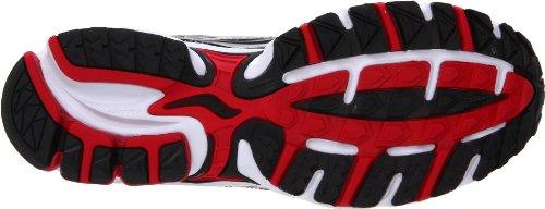 SAUCONY Grid Ignition 3 Scarpa da Running Uomo SILVER RED BLACK
