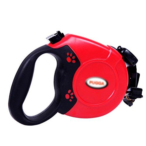 YOUJIA Roll - Leine Design Giant Professional Gurt 8M Rollleinen Für Große Hunde (Cord Leine Rot,8M) -