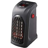Premewish Mini Portátil Estufa Eléctrico Calefactor Cerámicos Calefacción de Pared Termoventilador con Digital Termostato Baño Casa