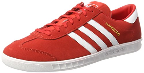 adidas Originals Herren Hamburg Sneaker Rot (Red) 48 EU