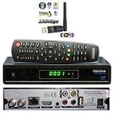 Medialink Smart Home ML1150S DVB-S2 FTA IPTV LAN Full HDTV Sat Receiver + Medialink IXUSS USB WiFi WLAN Adapter 150 Mbit/s