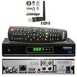 Media Link Smart Home ml1150s DVB-S2FTA IPTV LAN Full HDTV Sat Receiver + Medialink–Adattatore IXUSS USB WiFi WLAN 150Mbit/s