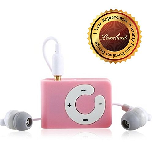 Lambent MP3 Player with TF Card Support (Assorted color)