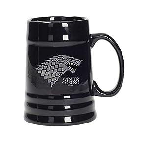 Juego de Tronos - Jarra de cerámica diseño Stark, color negro (SD Toys SDTHBO02897)- Stark Jarra Cerámica Game Of… 7