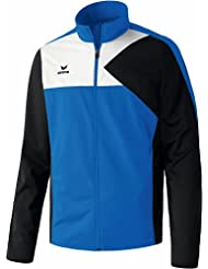erima Anzug Premium One Jacke - Chándal de fútbol para hombre, color azul / negro / blanco, talla 2XL