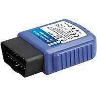 Cartrend 80290 Controlador de coche de Bluetooth OBD-II, para smartphones Android, tablets y PC incluido App