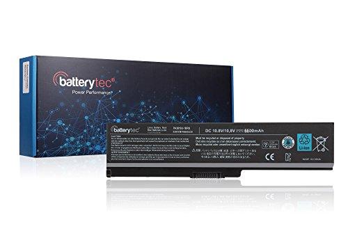 6600mAh Batterytec Laptop-Akku für Toshiba PA3817U-1BRS PA3819U Toshiba Satellite C655L650L650D L655L655D L700L745L750L750D L755L755D M640M645P745P755P775. [10,8V 6600mAh, 12Monate Garantie] (Satellite Laptop P775 Toshiba)