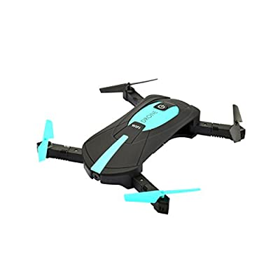 Xcellent Global Mini Helicopter Drone 2.4GHz iOS / Android APP Wifi Romote Control Selfie Pocket Drone RC FPV Quadcopter with 0.3MP HD Camera TY007