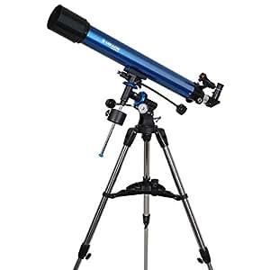 Meade Teleskop AC 90/900 Polaris EQ, Fernrohr für die Astronomie mit 90mm Öffnung und 900mm Brennweite