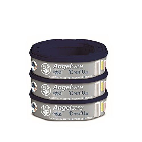 Angelcare Nachfüllkassetten für Windeleimer Dress-Up 3 Stück
