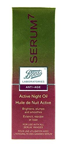 BOOTS LAB SERUM7 Active Night Oil