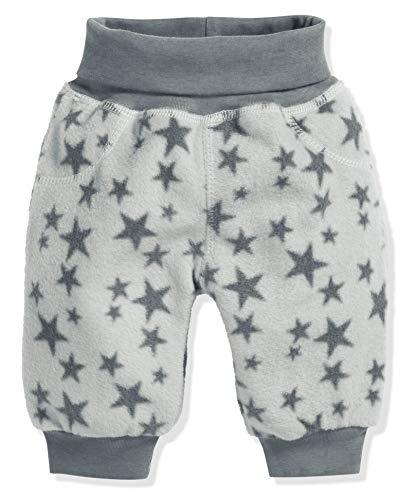 Schnizler Baby Pump-Hose aus Fleece, bequeme Kinder-Hose mit elastischem Strick-Bund, schadstoffgeprüft, mit Sternen-Muster -