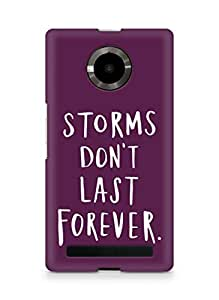 AMEZ storms dont last forever Back Cover For YU Yupheria