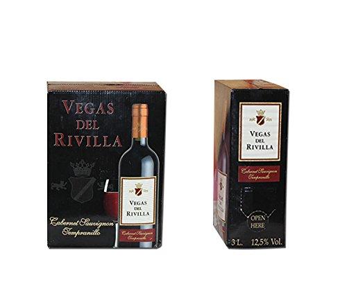 Bag in Box Vino TINTO Extremeño de Vegas del Rivilla 1 CAJA DE 5 LITROS