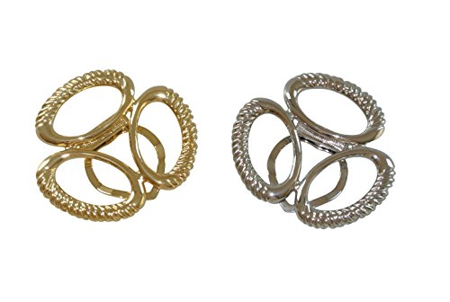 intercharmsc-scarf-jewellery-silver-and-golden-coloured