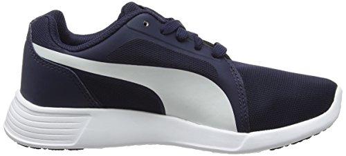 Puma ST Evo, Scarpe da Corsa Unisex – Adulto, Black Blu (PEACOAT/WHIT 02PEACOAT/WHIT 02)