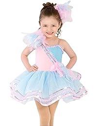 Geschenk-Idee! Herrliche Prinzessin Design Ballett- Ballettröckchen-Kleid / Tanzkleid, Mädchen Größe 4-8 , Preis / Stück