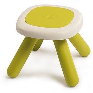 Smoby-3032168802018 Mesa/Taburete Infantil, Color Verde (880201)