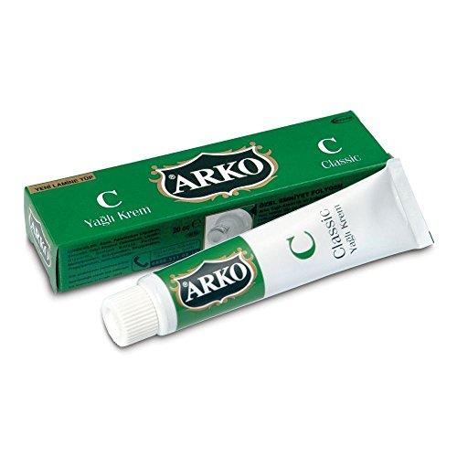 12x 20ml Arko Yagli Krem Fettige Feuchtigkeit spendende Klassik Creme