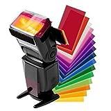 Kit di diffusori per flash, per Canon Speedlite 600EX, 580EX II, 430EX, 270EX e 320EX, 12 colori