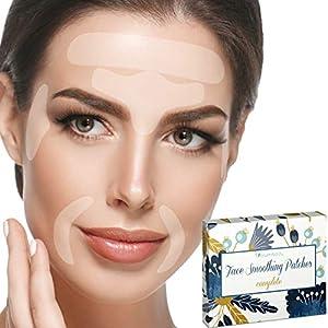 Blumbody Parches Faciales Antiarrugas – 165 Parches para la Reducción de Arrugas del Entrecejo