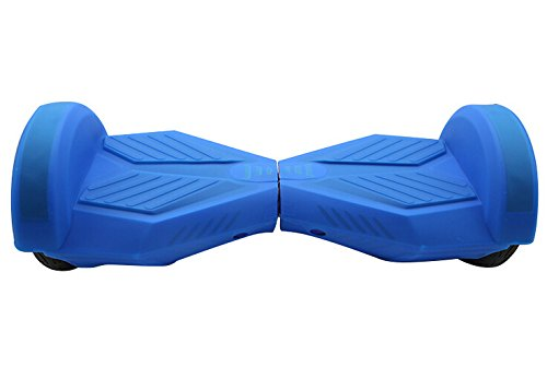 Blau Silikon Schutzhülle Case Deckung für 8 Zoll Self Balancing Elektro Scooter Hoverboard