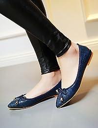 ZQ Zapatos de mujer-Tac¨®n Robusto-Tacones-Tacones-Casual-Vell¨®n-Negro / Rosa / Rojo / Gris / Almendra , pink-us6 / eu36 / uk4 / cn36 , pink-us6 / eu36 / uk4 / cn36