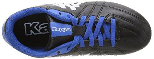 Kappa Soccer Player Fg Jungen Fußballschuhe Schwarz - Noir (Black/Blue)