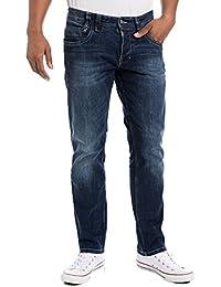 "Timezone Gerrittz ""3385 Surfer Wash"" - Jeans - Slim - Homme"