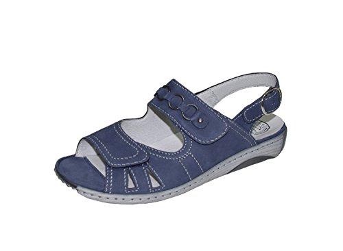 Sandal Waldläufer bleu 37 38 38.5 39 40 41 42 échangeables GERDA blau