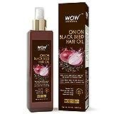 WOW Huile pour cheveux de graines d'oignon noire - Favorise la croissance des cheveux...