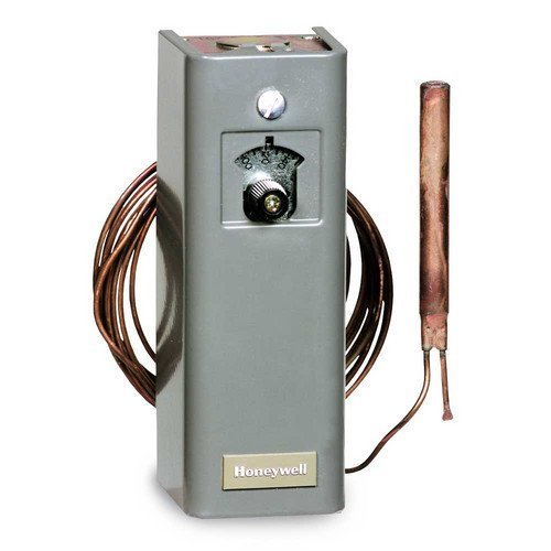 Honeywell T675A1425 temperature contol, 55F to 175F, with 20foot remote capillary sensor by Honeywell
