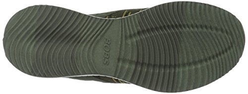 Skechers Damen Bobs Squad-Double Dare Slip On Sneaker Olive