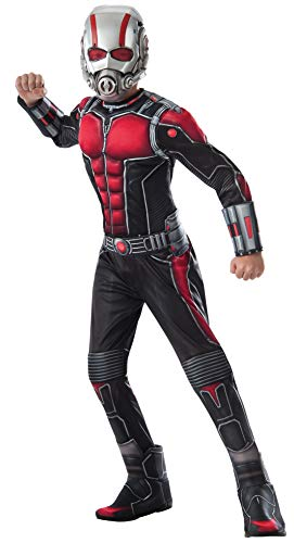 Pym Hank Kostüm - Marvel Ant-Man Deluxe Kostüm (Kind Large)