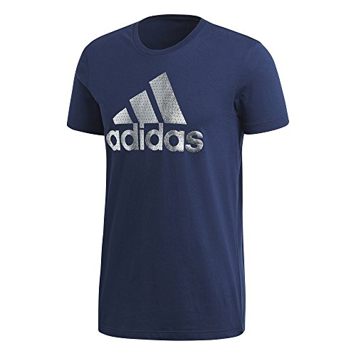 adidas Herren T-Shirt Bos Foil Blau
