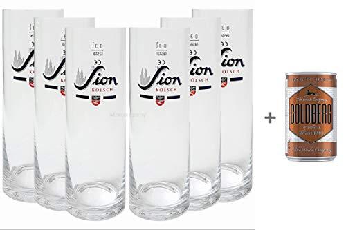 Sion Kölsch Glas / Gläser / Stangen - 6x 0,3L