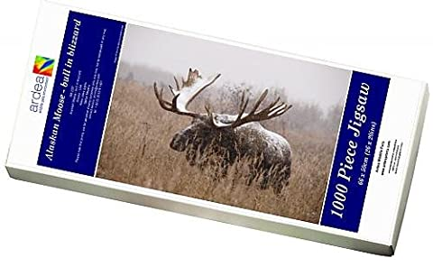 Photo Jigsaw Puzzle of Alaskan Moose - bull in