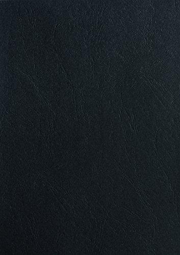 Pavo Einbanddeckel-Lederoptik DIN A3, 250 g/m², 100-er Pack, schwarz