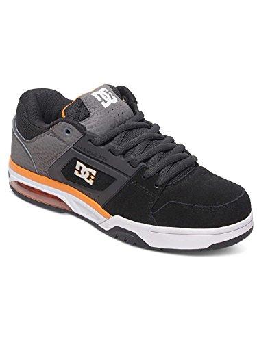 DC Shoes  Rival, Espadrilles Homme Gris - Grey/Grey/Orange