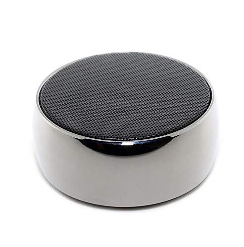 Altavoz Bluetooth inalámbrico Exterior portátil Mini-subwoofer pequeño cañón de Acero Plug-in Tarjeta...