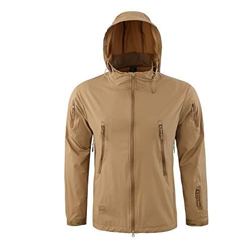 Herren Winddicht Warm Outdoor Mantel Kapuzenjacke Sport Uniform Samt Overalls Kinlene Herenen T-Shirt