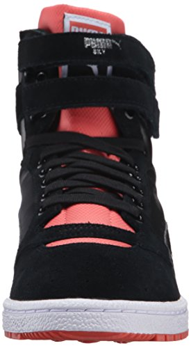 Puma Sky Ii Hi Streetwear Wn's, Scarpe da Basket donna marrone Brown Puma Black/Porcelain