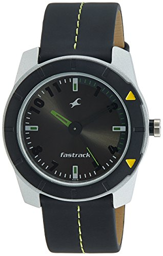 Fastrack Essentials Analog Grey Dial Men's Watch -NK3015AL02