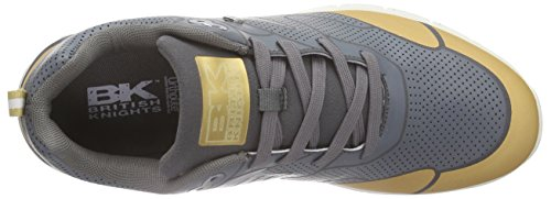 British Knights Demon, Sneakers basses homme Gris - Grau (DK Grey-Cognac 22)