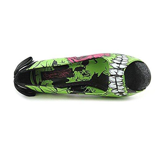Iron Fist - Zombie Stomper Platform Chaussures Femmes - green