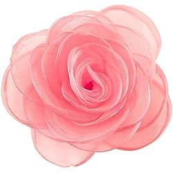 Merida Damen reizende Blume Haarspange Haarschmuck Rose Broschen